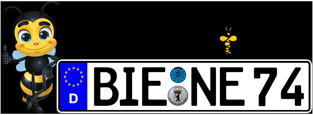 Kennzeichenbiene.de in Berlin