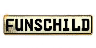 Fun-Schild Gold Reflex