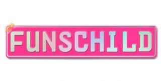 Fun-Schild Pink