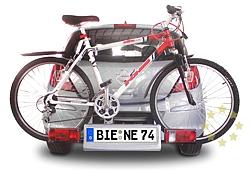 Ja, ich möchte ein weiteres Kennzeichen geprägt mit meinem Wunschkennzeichen für den Fahrradträger